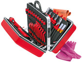 Knipex 989914 Universal Insulated Tool Case 46 Parts For Working On Electrical Installations