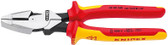 Knipex 0908240SBA Lineman'S Pliers Insulated With Two-Colour Dual Component Handles 9 1/2 In