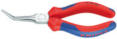 Knipex 3125160 Flat Nose Pliers (Needle-Nose Pliers) With Multi-Component Grips 6 1/4 In