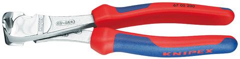 Knipex 6705200 End Cutting Nipper Black Atramentized Plastic Coated