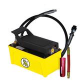 Esco Equipment 10876C Yellow Jackit 1/2 Gallon Air Hydraulic Pump Kit