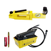 Esco Equipment 10231 Yellow Jackit Giant Tire/OTR Bead Breaker Kit  3.5 Quart