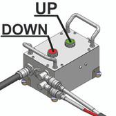 Esco Equipment 91006 Remote Control For MAMMUT High Tunnage Floor Jacks