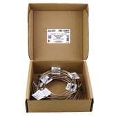AGS Company CNC-128KIT NiCopp EZ-Fit Complete Brake Line Replacement Kit