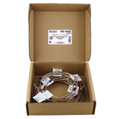 AGS Company CNC-163KIT NiCopp EZ-Fit Complete Brake Line Replacement Kit