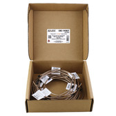 AGS Company CNC-145KIT NiCopp EZ-Fit Complete Brake Line Replacement Kit