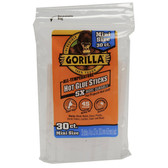 Gorilla Glue 3023003 Hot Glue Sticks 4 In. Mini Size, 30 Count