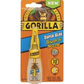 Gorilla Glue 7500101 Super Glue Brush and Nozzle, 10-Gram