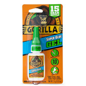 Gorilla Glue 7600101 Super Glue Gel, 15 g, Clear