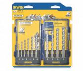 Irwin 1792772 Multi Material Pro Drill Bit Set, 10-Piece