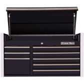 "Extreme Tools RX412508CHBK RX Series 41"" 8-Drawer Top Chest - Black"