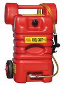 John Dow FC-15PFC 15-Gal. Poly Fuel Cart - Gasoline