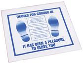 John Dow FM-3-H Plastic Disposable Floor Mat (Roll/500)