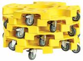 John Dow JDI-TT6 Tire Taxi Standard Wheel Cart - 6 Pack