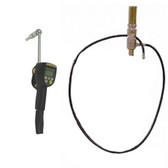John Dow JDOL-55-K500 Pneumatic Oil System for 55 Gal Drum w/ Electric Meter Gun