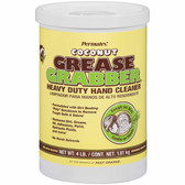 Permatex 14106 Grease Grabber Heavy Duty Coconut Hand Cleaner, 4 lbs