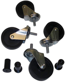 John Dow 17PLP-WH Casters and Nuts For JDI-17PLP Oil Drain