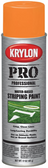 Krylon 5916 Water-Based Athletic Field Striping Paint - Orange, 17 oz
