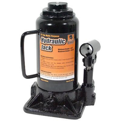 Black Bull HBJ12 12 Ton Hydraulic Bottle Jack