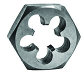 Century Drill 98213 High Carbon Steel Fractional Hexagon Die, 5/8-11 NC