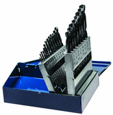 Century Drill 24021 Black Oxide Industrial High Speed Steel Drill Bit Set, 21pcs