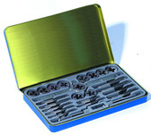 Century Drill 98904 Fractional Tap and Die Set, 24-Piece