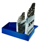 "Century Drill 26115 Cobalt High Speed Steel Drill Bit Set 1/16"" to 1/2"", 15 pcs"