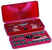 Century Drill 98912 Metric Tap and Die Set, 40-Piece