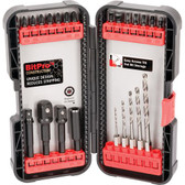 Titan Tools 16277 23 Piece Impact Drill & Driver Set