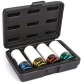 "Titan Tools 21095 1/2"" Drive Non-Marring Lug Nut Socket Set (4 Piece)"