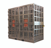 Esco Equipment 90425 AUTOMATIC OTR & Mining Tire Inflation Cage