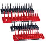 Hansen Global 92003 4 Pack 3 Row Socket Holders Set