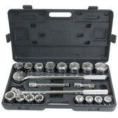 Pro-Series PS07485 21 Piece SAE Socket Set