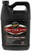 Meguiars D11501 Detailer Rinse Free Express Wash & Wax - 1-Gallon