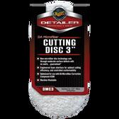 Meguiars DMC3 DA Microfiber Cutting Discs, 3 inch (2 pack)