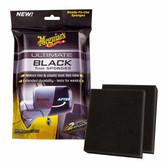 Meguiars G15800 Ultimate Black Trim Sponge, (Pack of 2)