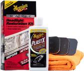Meguiars G2960 Basic Headlight Restoration Kit  Plastic Cleaner & Polish Kit