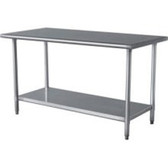 "Sportsman Series SSWTABLE 24""X49"" Stainless Work table"