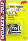 Victor 22-5-08843-M Valve Sleeves & Caps - Chrome - CD/4