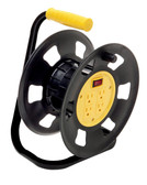 Designers Edge E230 Extension Cord Storage Reel, Multi-Outlet Adapter