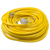 Yellow Jacket 2806 10/3 Heavy-Duty 15-Amp SJTW Contractor Extension Cord, 100 ft