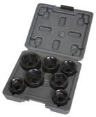 Lisle 13270 Low Profile Filter Socket Set, 7pc