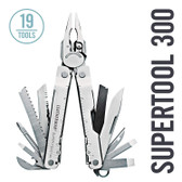 Leatherman 831102 Super Tool-300 19-in-1 Multi-tool with Premium Sheath