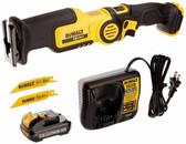 Dewalt DCS310S1 12V MAX* Cordless Pivot Reciprocating Saw Kit