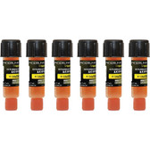 Tracerline TP9865-P6 Mini-EZ A/C Dye for R134a/PAG, 0.25 oz (7 ml), 6 pack