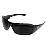 Edge Eyewear XB116-S Brazeau Designer Safety Glasses - Black Frame - Smoke Lens