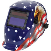 Grip-On-Tools 85208 Eagle/USA Auto-Darkening Welding Helmet