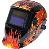 Grip-On-Tools 85209 Skull Auto Darkening Welding Helmet
