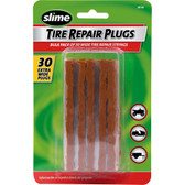"Slime 20141 Extra-Wide Brown Tire Repair Strings, 4"" (Pack of 30)"