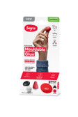 Sugru I000438 Mouldable Glue - Family-Safe Formula - Black, White & Red (3-pack)